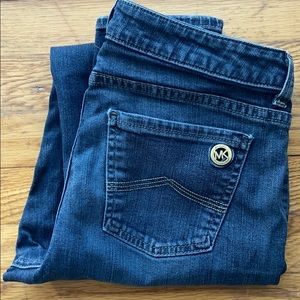 Michael Kors Dark Wash Jeans